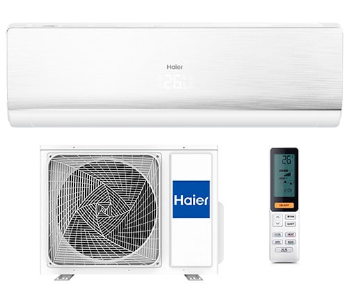 Инверторный кондиционер Haier Lightera Super Match DC Inverter AS24NS3ERA-W/1U24GS1ERA