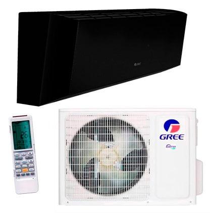 Инверторный кондиционер Gree «Amber Standart Black/Black Inverter» GWH24YE-K6DNA1A